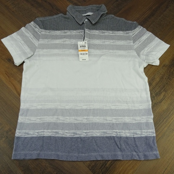 Alfani Other - Alfani Mens Gray Quilted Two Button Size S NWT